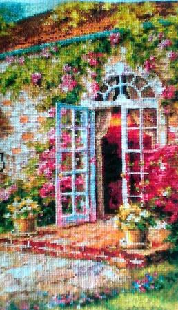 Цветущий сад ручной работы на заказ