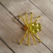 Паучок из бисера