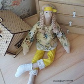 Кукла Тильда беременная