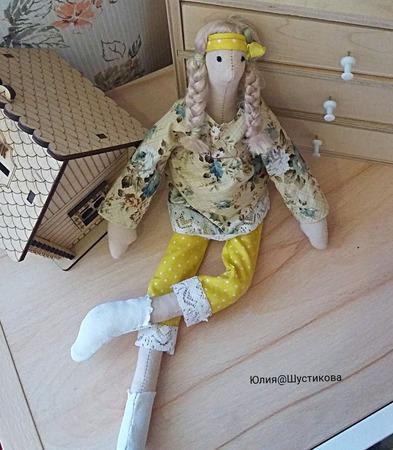 Кукла Тильда беременная ручной работы на заказ