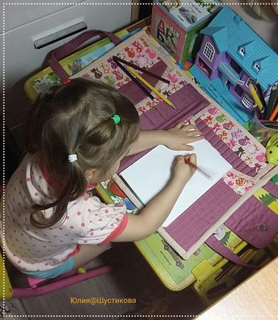 Папка для рисунков ручной работы на заказ