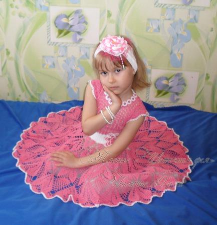 """Платье """"Цветочная фея"""" ручной работы на заказ"""