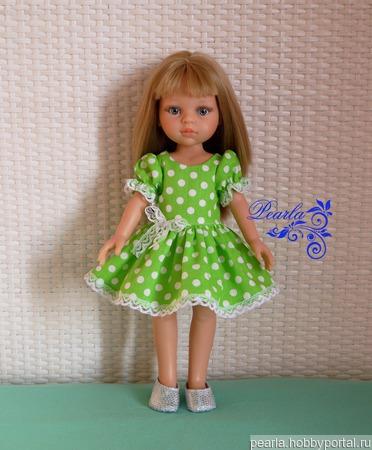 Платье для  куклы Paola Reina ручной работы на заказ
