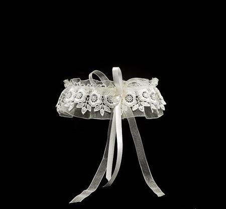 Подвязка невесты ручной работы на заказ
