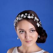 """Украшение для волос """"Лиана"""" 7130 хризантема"""