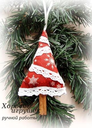 Новогоднее украшение Ёлочка-саше ручной работы на заказ