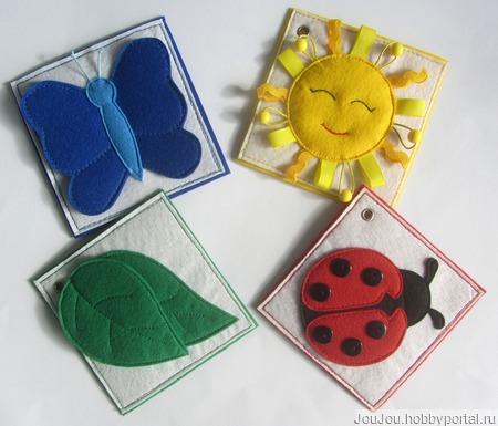 Карточки для изучения цветов и форм ручной работы на заказ