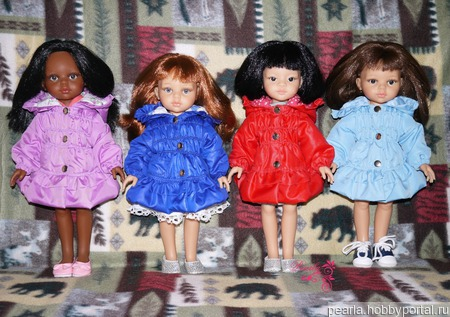 Курточка для куклы  Paola Reina ручной работы на заказ