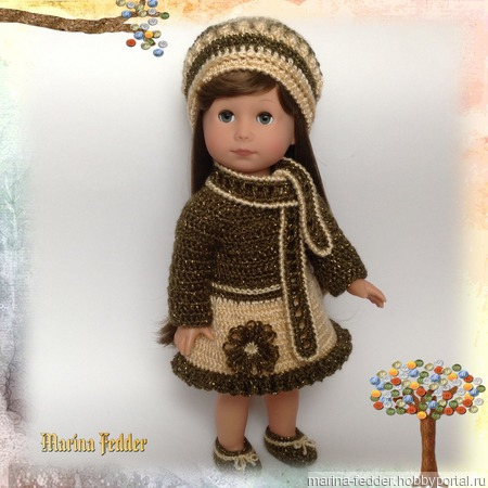 Комплект для куклы Gotz ручной работы на заказ