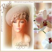 """Шляпа """"Чайные розы"""""""