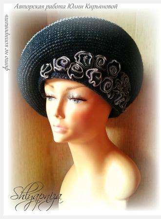 """Шляпа """"Чайные розы"""" ручной работы на заказ"""