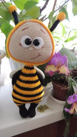 Боня Пчелка ручной работы на заказ
