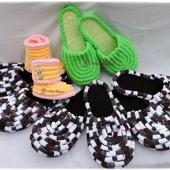 Плюшевые тапочки для взрослых и детей