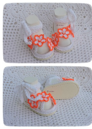 Пинетки туфельки на подошве ручной работы на заказ