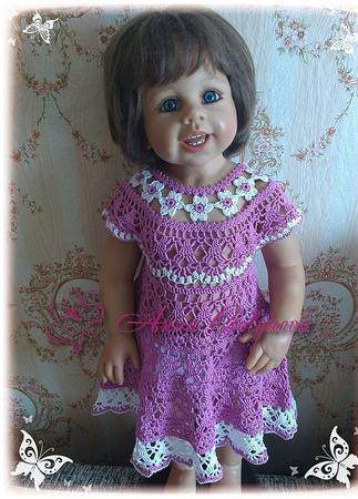 """Платье для девочки """"Цветочная феечка"""" ручной работы на заказ"""