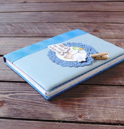 Бэбибук (блокнот о малыше) ручной работы на заказ