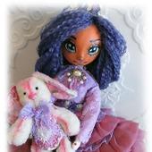 Куколка Флора и кролик Фин