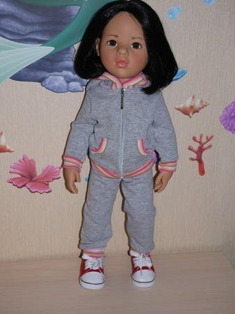 Костюм для куклы  Готц (Gotz) ручной работы на заказ