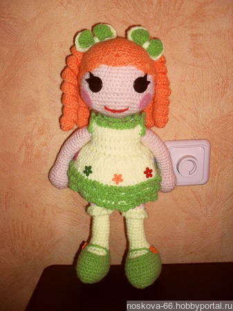 Кукла Лалалупся ручной работы на заказ