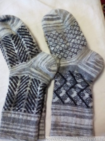 Носки мужские ручной работы на заказ
