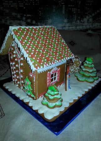 Сказочный пряничный домик ручной работы на заказ