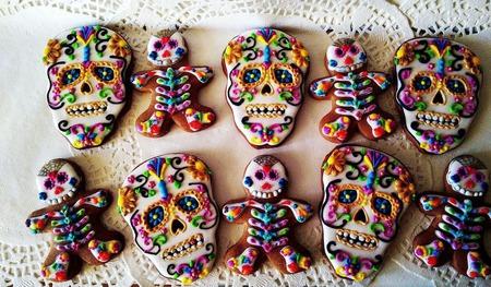 Пряничные скелетоны ручной работы на заказ