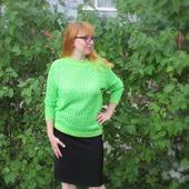 фото: Одежда (джемпер зеленый)