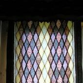 """Шторы лоскутные """"Мозаичный витраж""""(пэчворк,текстиль,занавески)"""