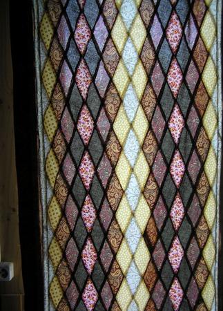 """Шторы лоскутные """"Мозаичный витраж""""(пэчворк,текстиль,занавески) ручной работы на заказ"""