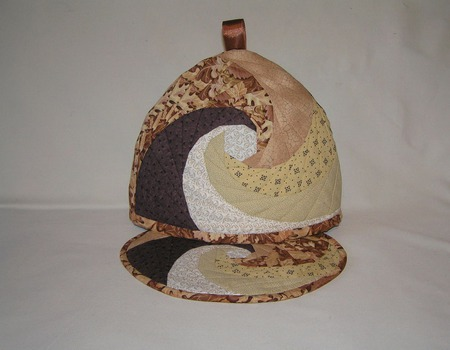 Грелка для чайника и подставка под горячее ручной работы на заказ