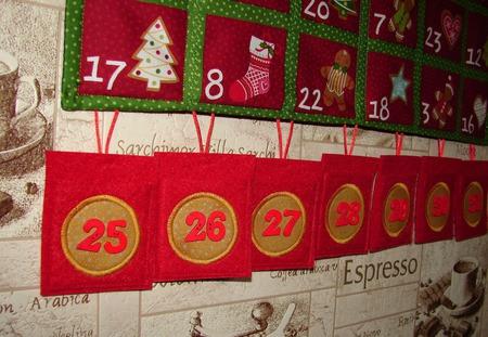 Адвент календарь ручной работы на заказ