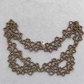 Ожерелье-воротник бронзовый
