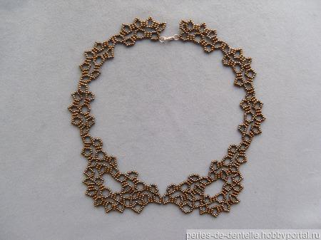 Ожерелье-воротник бронзовый ручной работы на заказ
