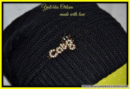 Комплект шапка и шарфик ручной работы на заказ