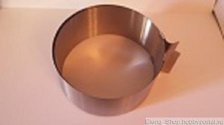 Форма круглая-для теста и десертов ручной работы на заказ