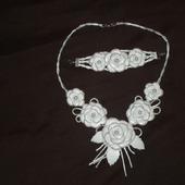 Комплект Белые розы