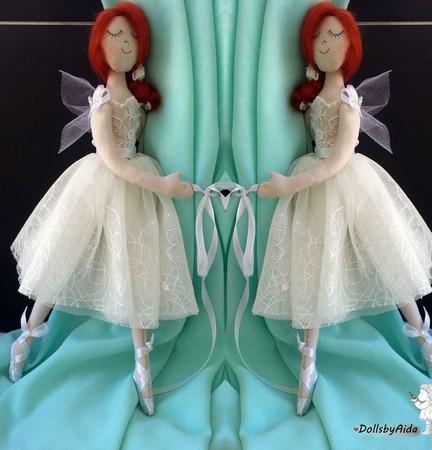 Подхваты для штор феи-балеринки ручной работы на заказ