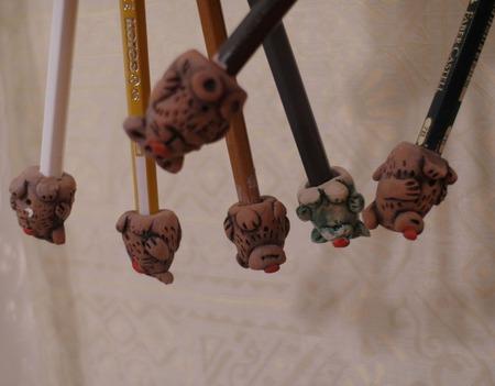 Жители карандаша ручной работы на заказ