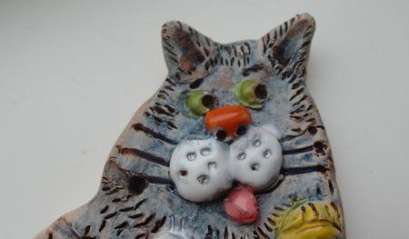 Котики- сердечки ручной работы на заказ
