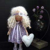 Блонди - интерьерная кукла