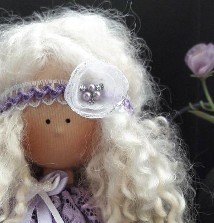 Блонди - интерьерная кукла ручной работы на заказ