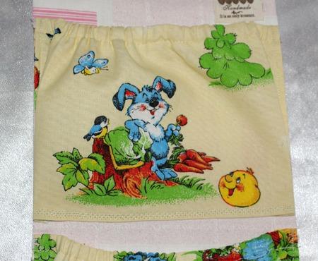 Кармашек cаше  в садик в ящик для одежды ручной работы на заказ