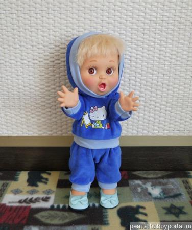 Костюм для фейсинки (Galoob baby face) ручной работы на заказ