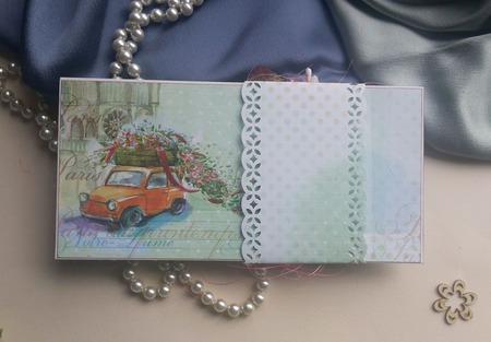 Открытка-конверт для денег ручной работы ручной работы на заказ