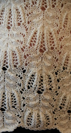 Ажурный пуловер ручной работы на заказ