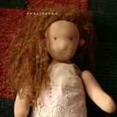 """Кукла """"Фелиция"""" в вальдорфском стиле"""