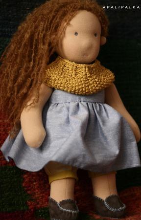 """Кукла """"Фелиция"""" в вальдорфском стиле ручной работы на заказ"""