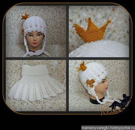 Шапочка Принцеса ручной работы на заказ
