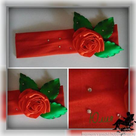 Трикотажные повязки ручной работы на заказ