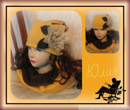 Трикотажные шапки ручной работы на заказ